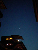 [月・金星・木星(2012/2/24)]