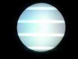 [2006年11月9日の水星の日面通過8:25の様子]